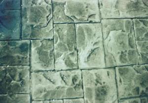 Baskı beton zemin 1