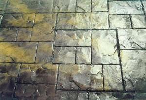 Baskı beton zemin 2