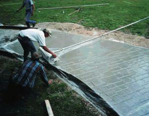 Rulo baskılı beton uygulama adımları 07